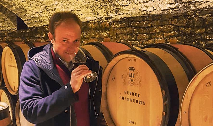 vigneron dans la vigne